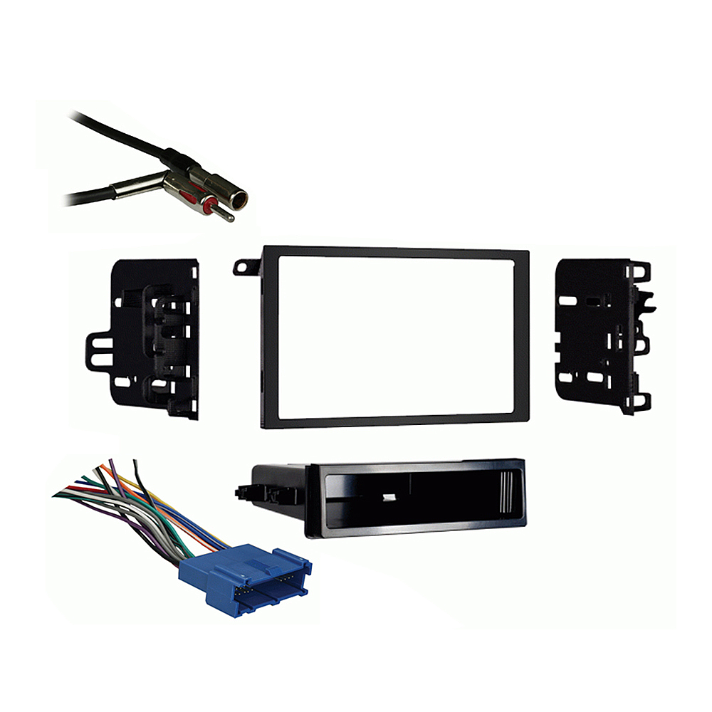 Oldsmobile Cutlass Supreme 1995-1997 Double DIN Stereo Harness Radio Dash Kit