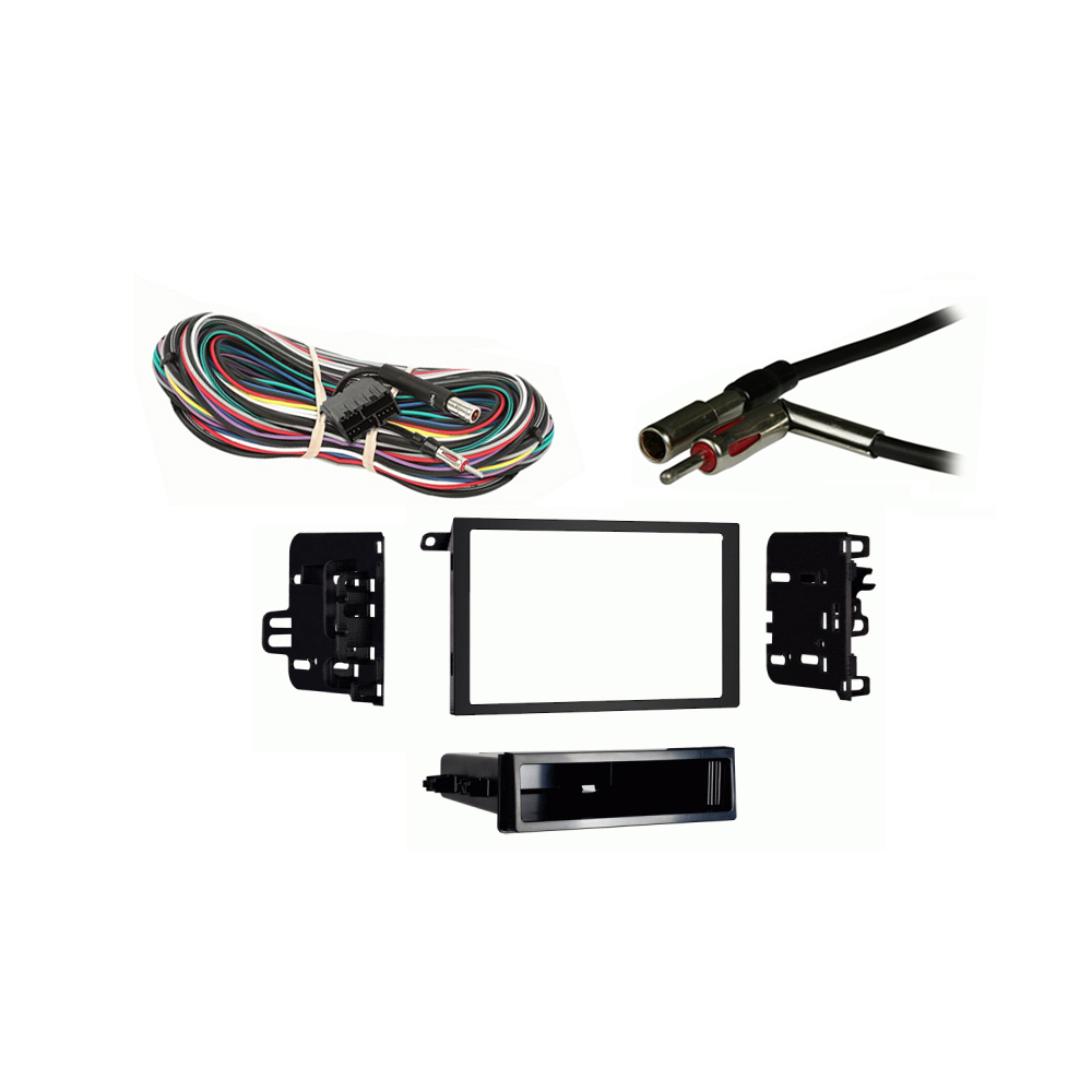 Cadillac Fleetwood 1993 1994 1995 1996  Double DIN Stereo Harness Radio Install Dash Kit