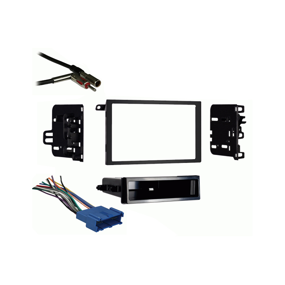 Oldsmobile Eighty-Eight 1994-1999 Double DIN Stereo Harness Radio Dash Kit