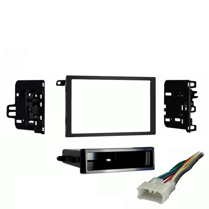 Oldsmobile Intrigue 2002 Double DIN Stereo Harness Radio Install Dash Kit