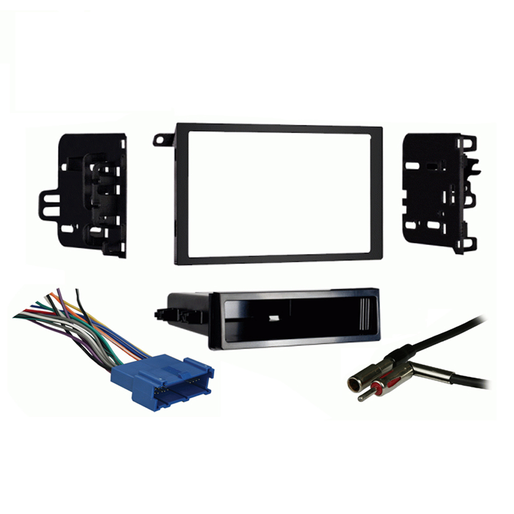Oldsmobile Ninety-Eight 1994-1996 Double DIN Stereo Harness Radio Dash Kit
