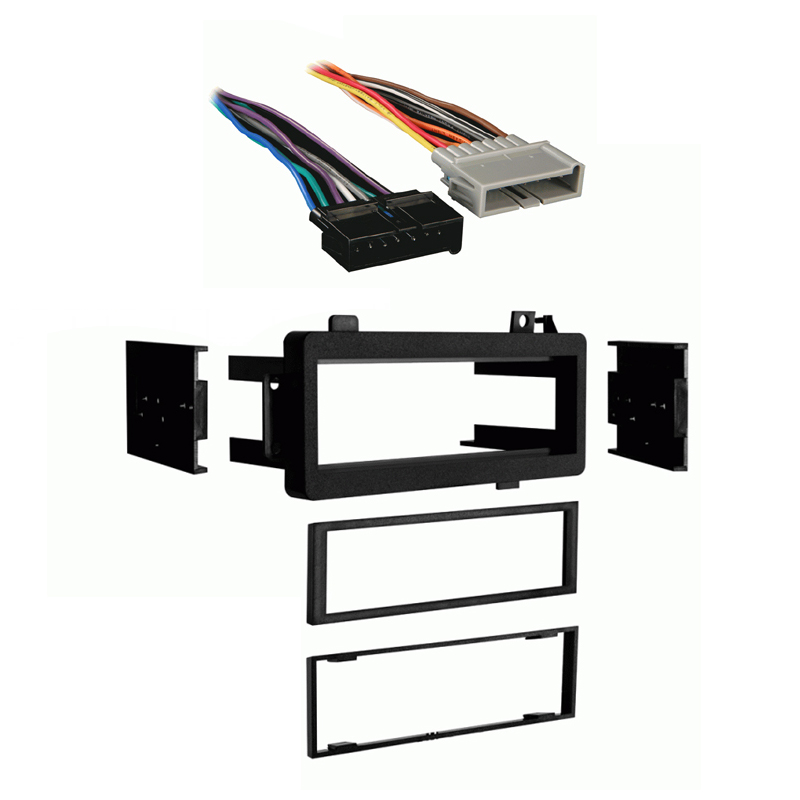 Plymouth Acclaim 1989 1990 1991 1992 1993 1994 1995 Single DIN Stereo Harness Radio Install Dash Kit Package