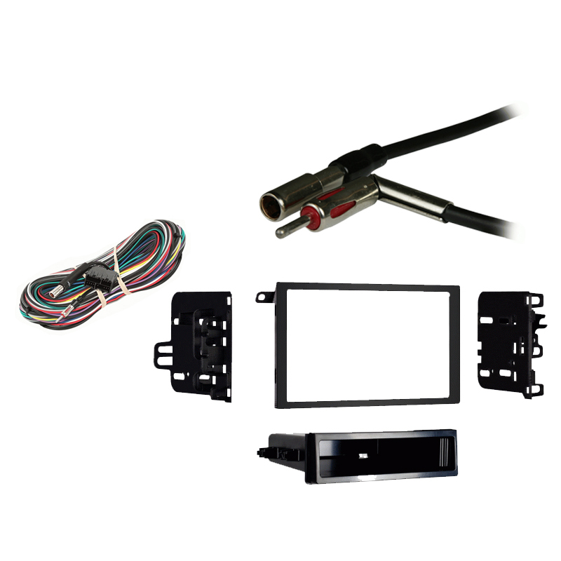 Cadillac Fleetwood Brougham 1990 1991 1992  Double DIN Stereo Harness Radio Install Dash Kit