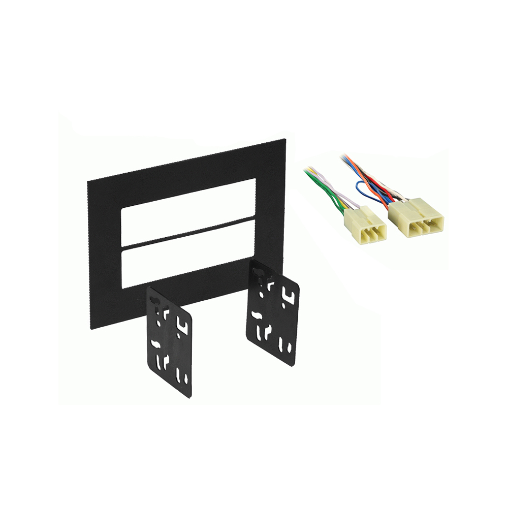 Subaru Forester 2005 2006 2007 2008 Double DIN Stereo Harness Radio Install Dash Kit Package
