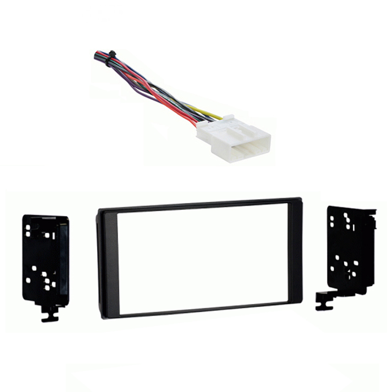 Subaru Forester 2014 2015 without OE NAV Double DIN Stereo Harness Radio Dash Kit