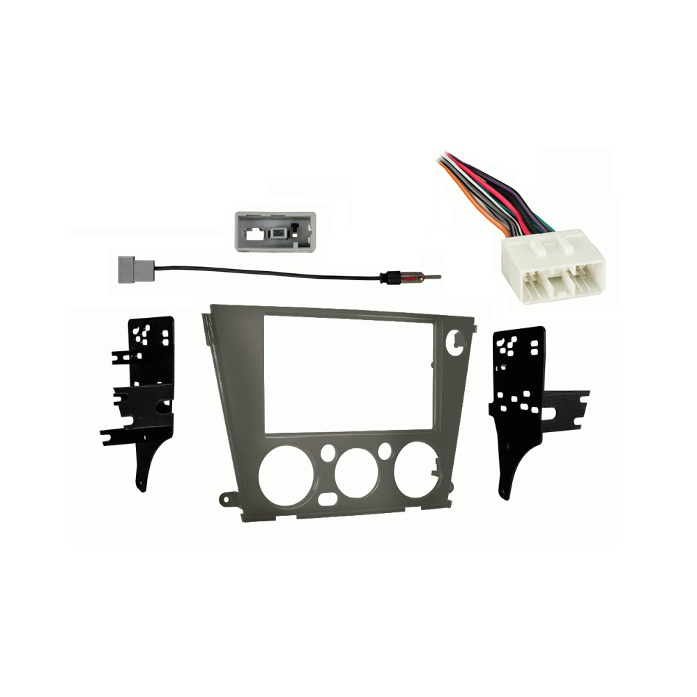 Subaru Legacy 2005 2006 2007 2008 2009 without Auto Climate Double DIN Stereo Harness Radio Dash Kit
