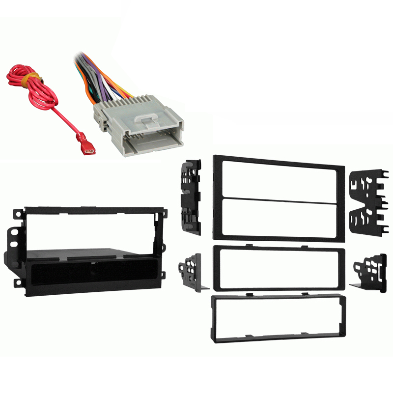 Suzuki Vitara 1999 2000 2001 2002 2003 2004  Single DIN Stereo Harness Radio Install Dash Kit Package