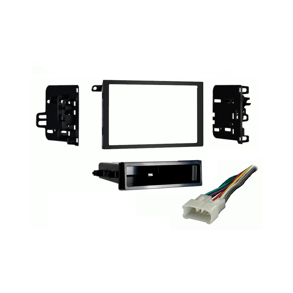 Suzuki XL-7 2001-2002 Double DIN Stereo Harness Radio Install Dash Kit Package