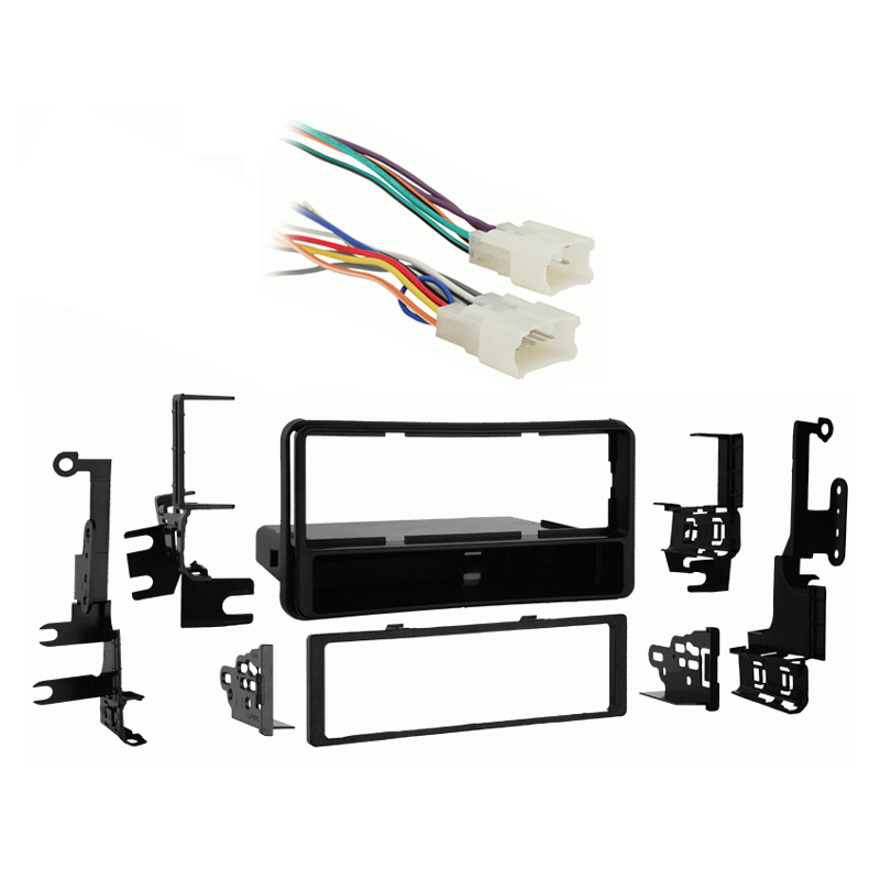 Toyota 4 Runner 2003 2004 2005 2006 2007 2008 2009 Single DIN Stereo Harness Radio Dash Kit   without RDS JBL