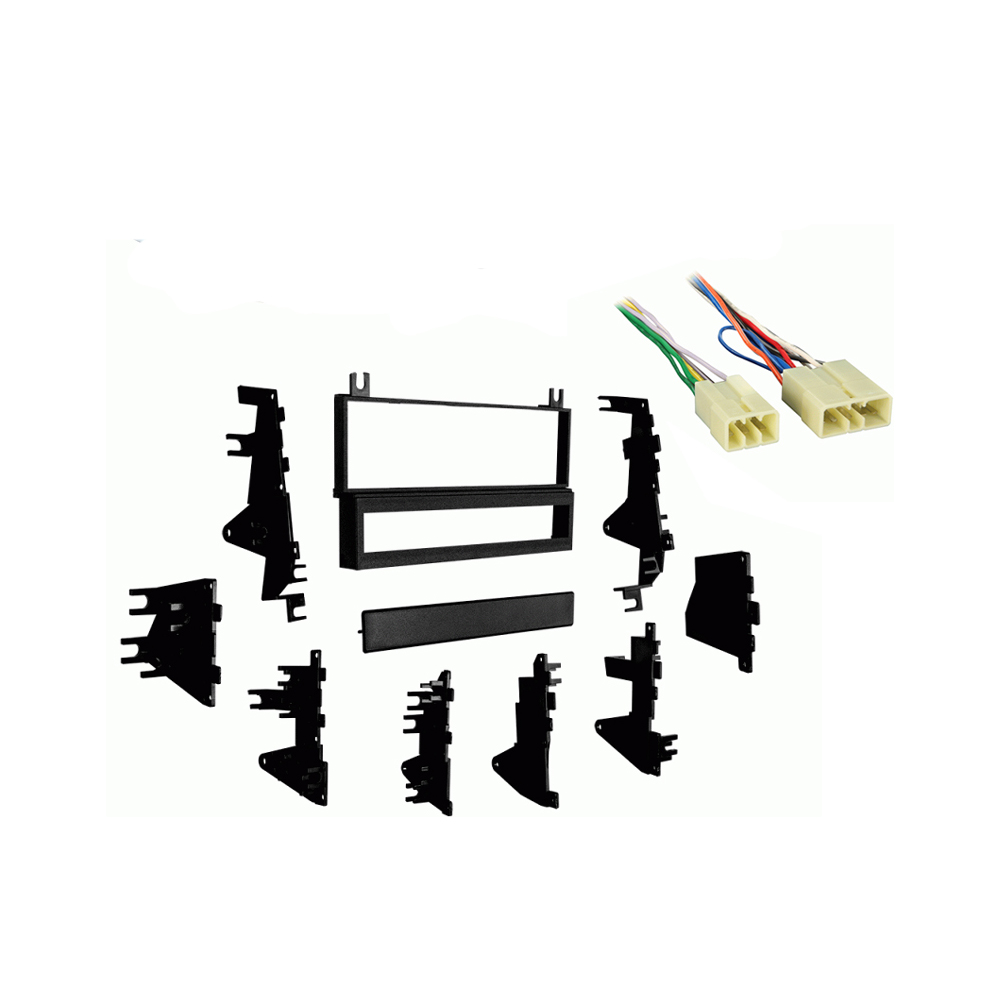 Toyota Celica 1986 1987 1988 1989 1990 1991 1992 1993 Single DIN Stereo Harness Radio Install Dash Kit Package