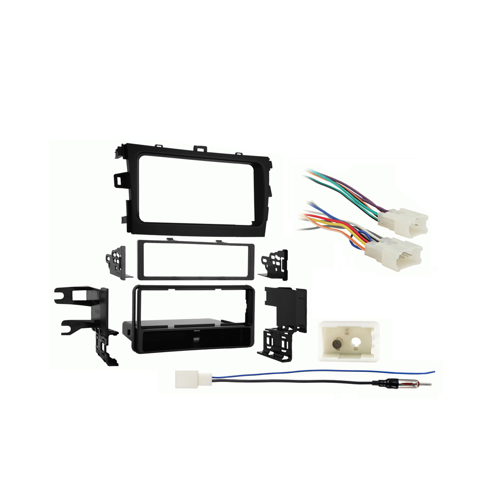 Toyota Corolla 2012-2013 Single DIN Stereo Harness Radio Install Dash Kit