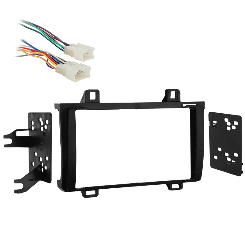 Toyota Matrix 2009-2010 w/o NAV Double DIN Stereo Harness Radio Install Dash Kit