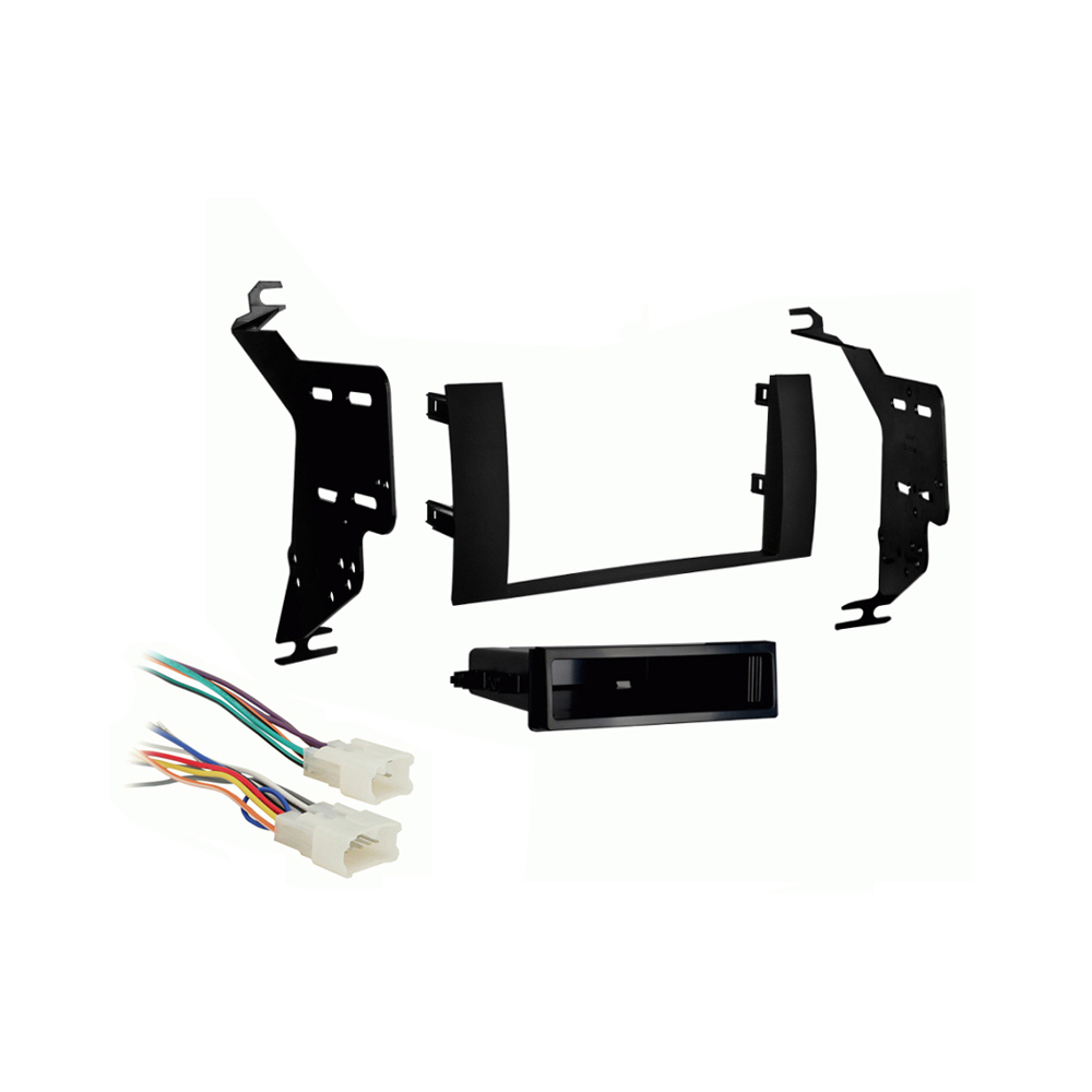 Toyota Prius 2004-2009 Single DIN Stereo Harness Radio Install Dash Kit Package