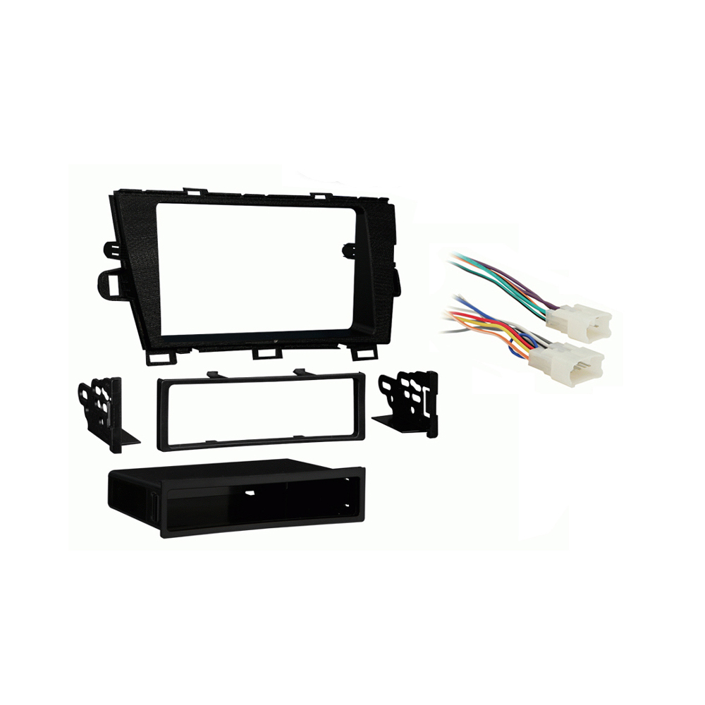 Toyota Prius/Prius Plug-in 2010-2011 Single DIN Stereo Harness Radio Dash Kit