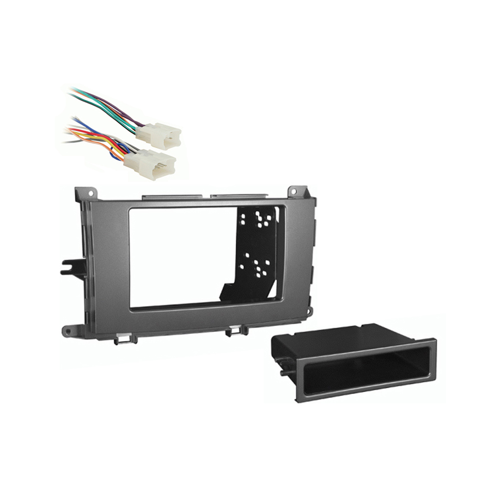 Toyota Sienna 2011 2012 2013 2014 Multi DIN Stereo Harness Radio Install Dash Kit Package