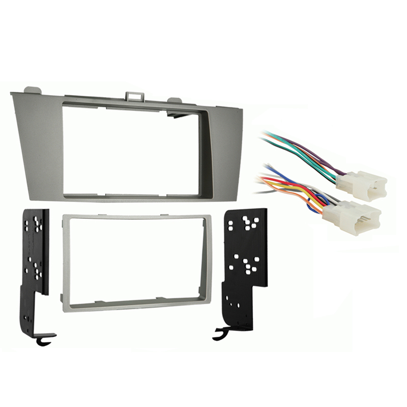 Toyota Solara 2004 2005 2006 2007 2008 Double DIN Stereo Harness Radio Install Dash Kit Package