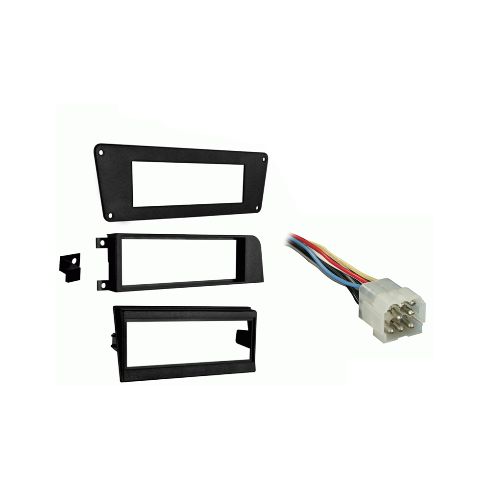 Volvo 240 Series 90-93 Single DIN Stereo Harness Radio Install Dash Kit Package