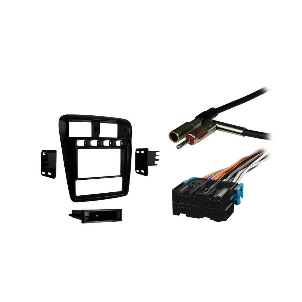 Chevy Camaro 1997 1998 1999 2000 2001 2002 Double DIN Stereo Harness Radio Install Dash Kit Package