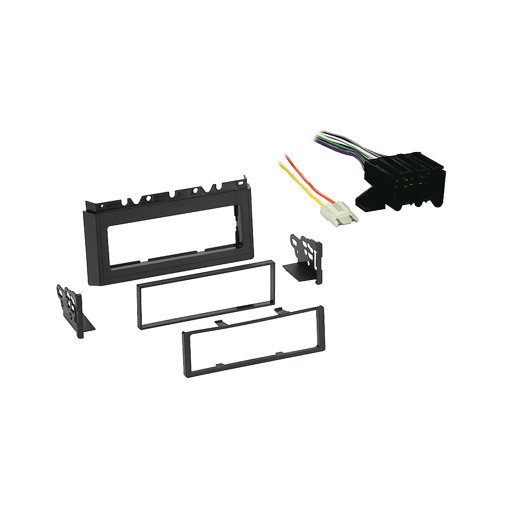Chevy Caprice 1985 1986 1987 1988 1989 1990  Single DIN Stereo Harness Radio Install Dash Kit Package
