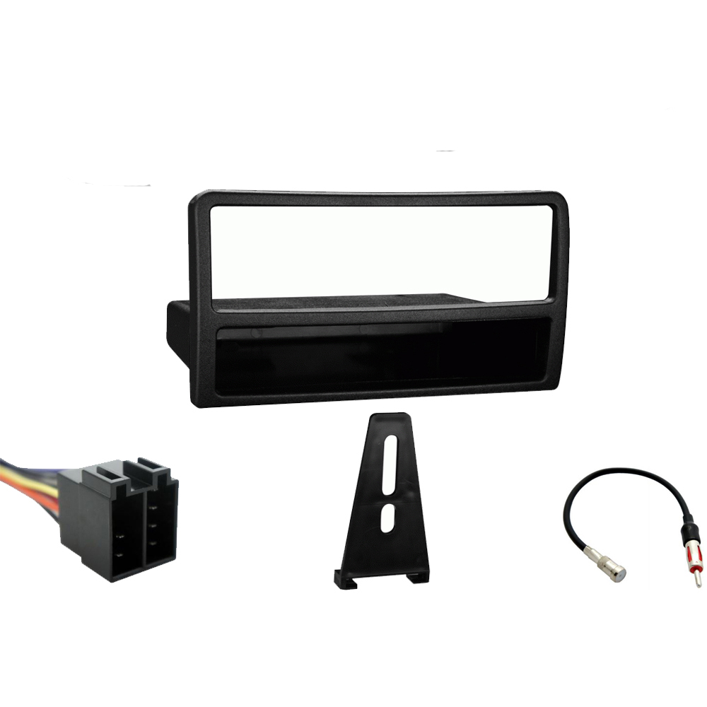 Ford Focus 2000 2001 2002 2003 2004 Single DIN Stereo Harness Radio Install Dash Kit Package
