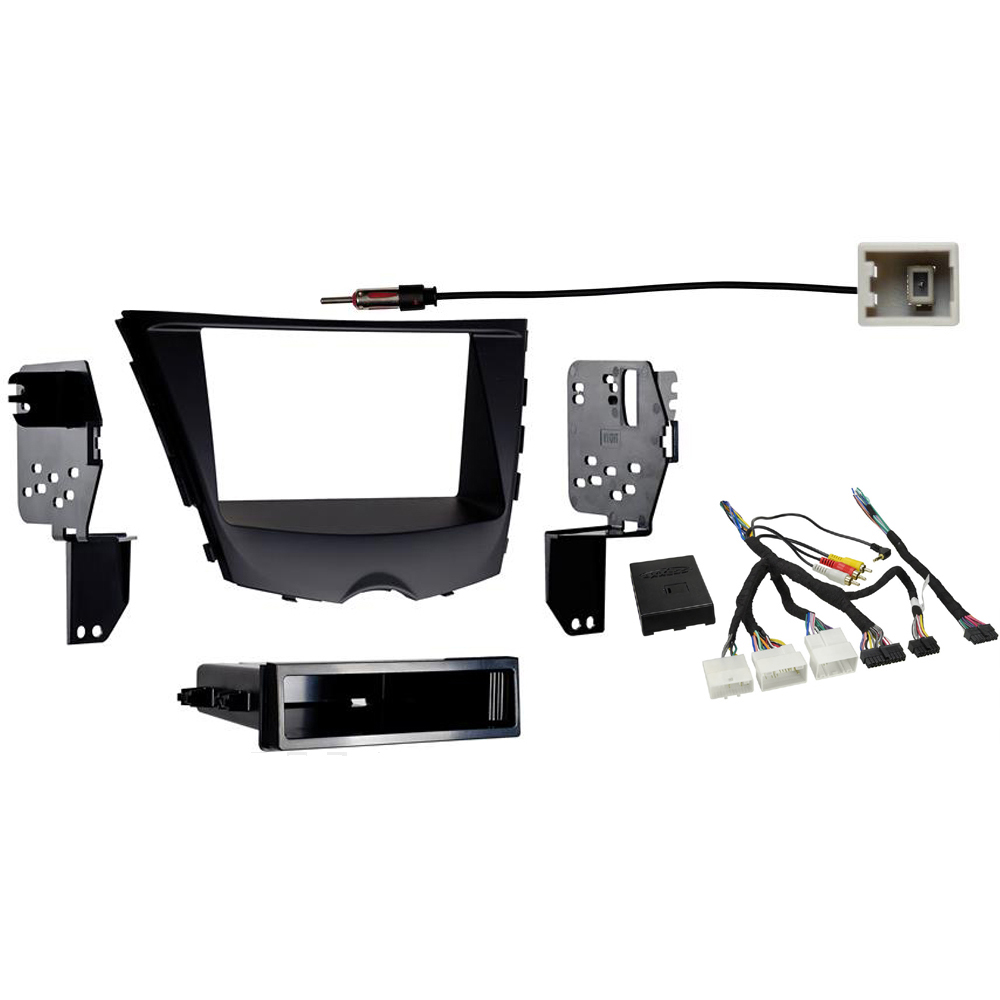 Fits Hyundai Veloster 2012-2016 Single Double DIN Stereo Radio Install Dash Kit
