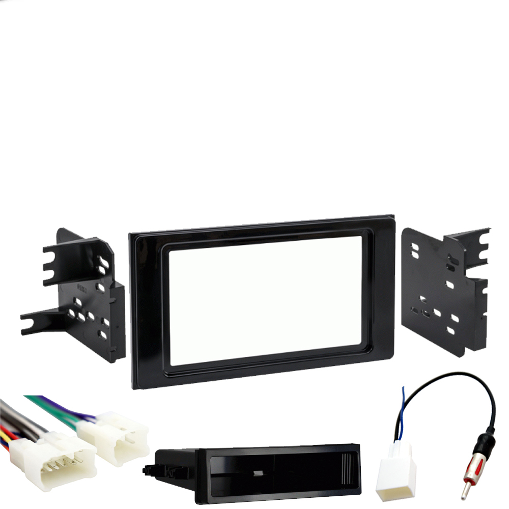 Toyota Prius 2016-2018 Single DIN Stereo Harness Radio Install Dash Kit Package