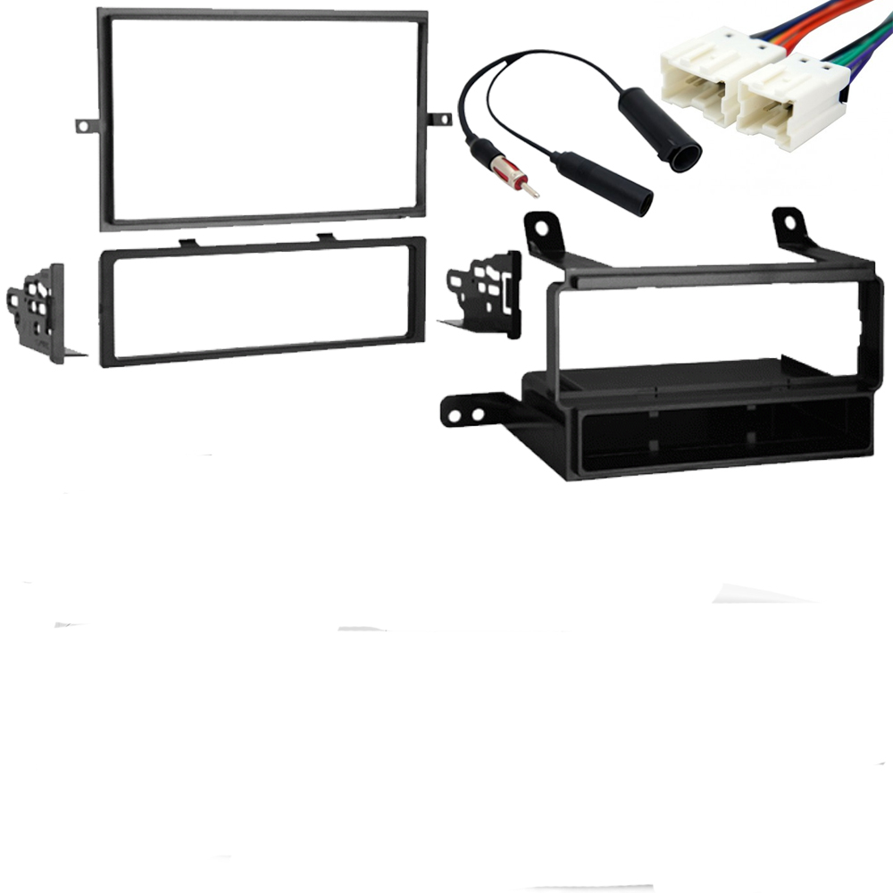 Fits Nissan Pathfinder 2008 2009 2010 2011 2012 Single DIN Stereo Radio Install Dash Kit New