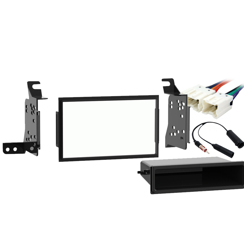 Fits Nissan Pathfinder 2008 2009 2010 2011 2012 Double DIN Stereo Radio Install Dash Kit New