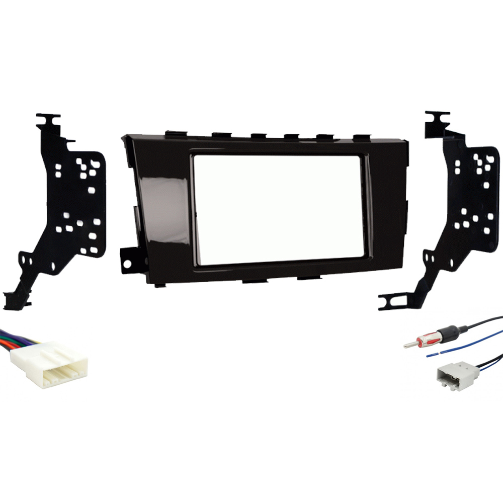 Fits Nissan Altima 2012-2015 Double DIN Stereo Harness Radio Install Dash Kit