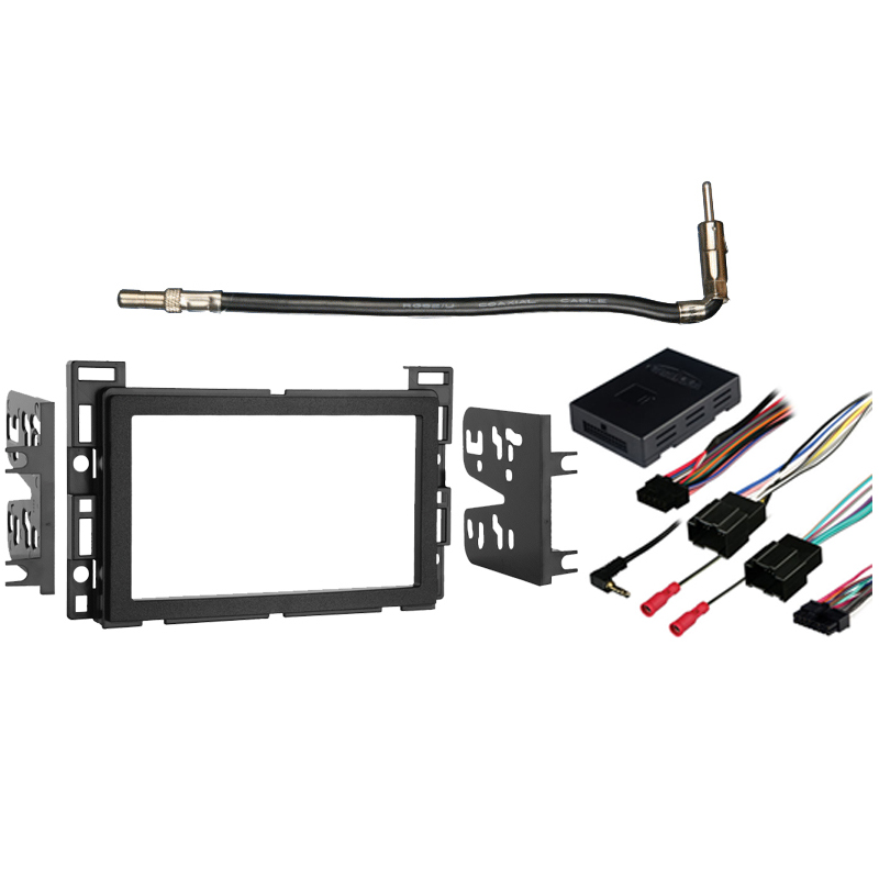 fits chevy cobalt 2007 2010 double din stereo harness. Black Bedroom Furniture Sets. Home Design Ideas