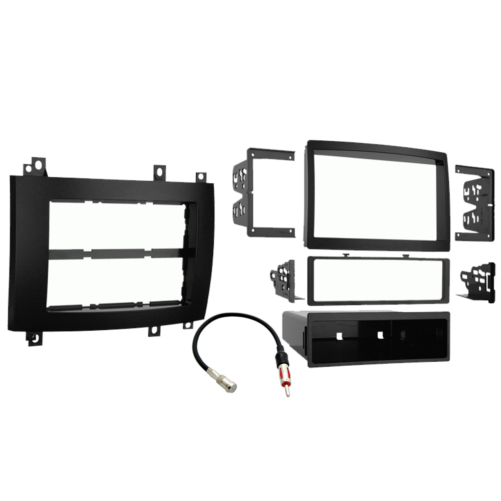 Cadillac CTS V 2003 2004 2005 2006 2007 Single Double DIN Stereo Radio Install Dash Kit Black