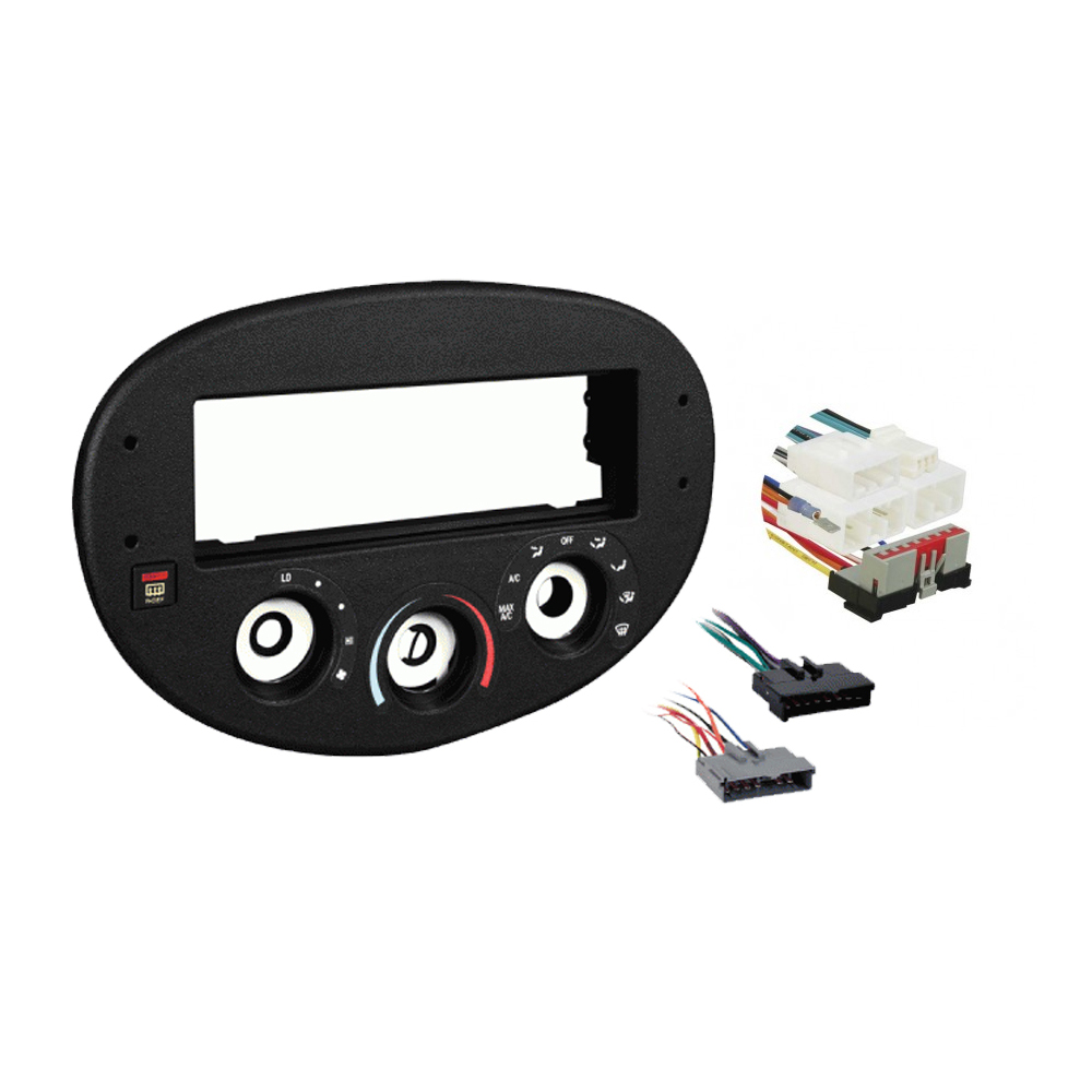 Ford  Escort ZX2 2003 Single DIN Stereo Harness Radio Install Dash Kit Package