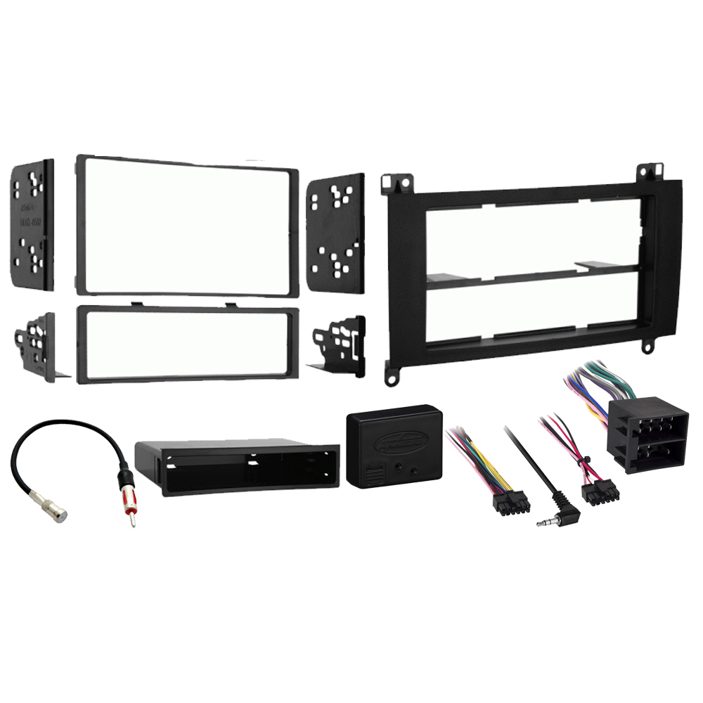 Dodge Sprinter 2007-2009 Single or Double DIN Stereo Radio Install Dash Kit New