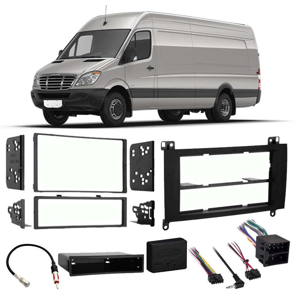 Freightliner Sprinter 2007-2013 Single Double DIN Stereo