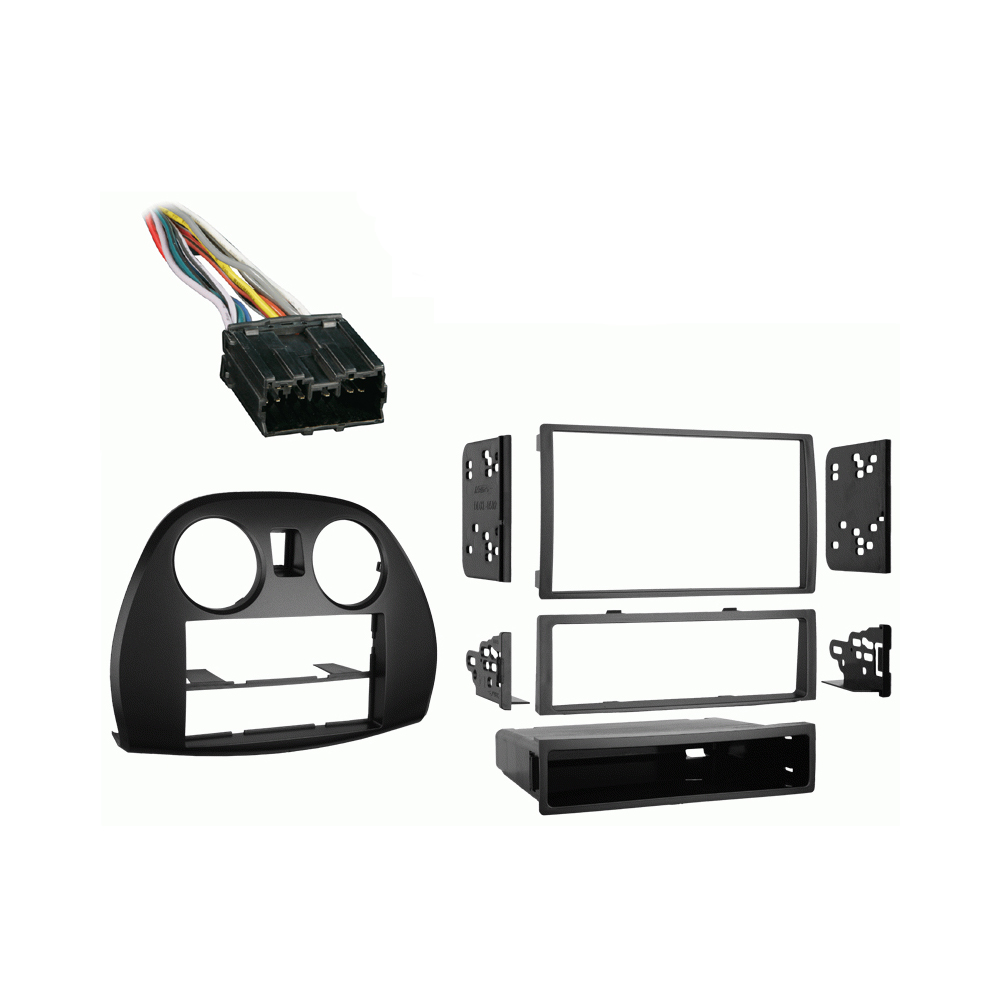 Mitsubishi Eclipse 2006-2012 Single or Double DIN Stereo Radio Install Dash Kit