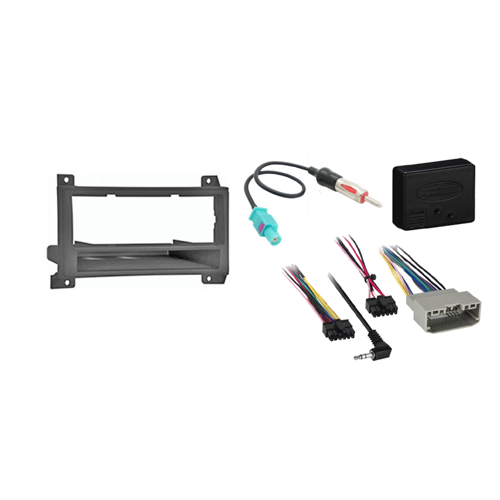 Dodge Durango 2011 2012 2013 Single or Double DIN Stereo Radio Install Dash Kit New