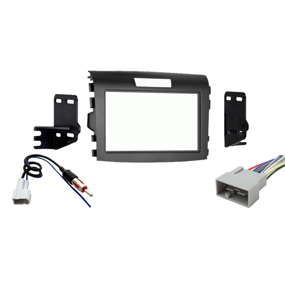 Honda CR V 2016 Double DIN Stereo Harness Radio Install Dash Kit Package New