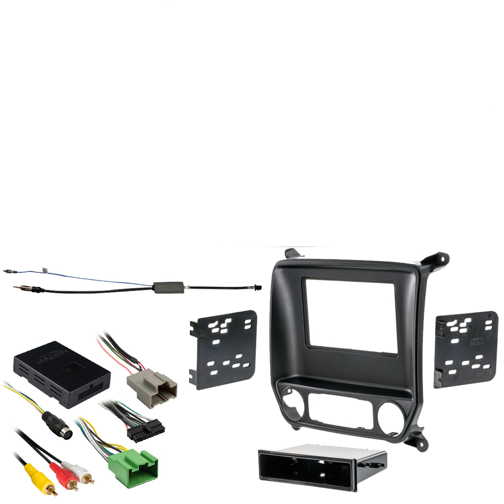 "GMC Sierra 1500 Limited 2500 3500 2019 Stereo Install Dash Kit w/ 8"" Radio New"