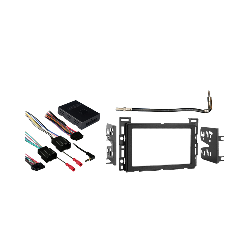Chevy HHR 2006-2012 Double DIN Aftermarket Stereo Harness Radio Install Dash Kit