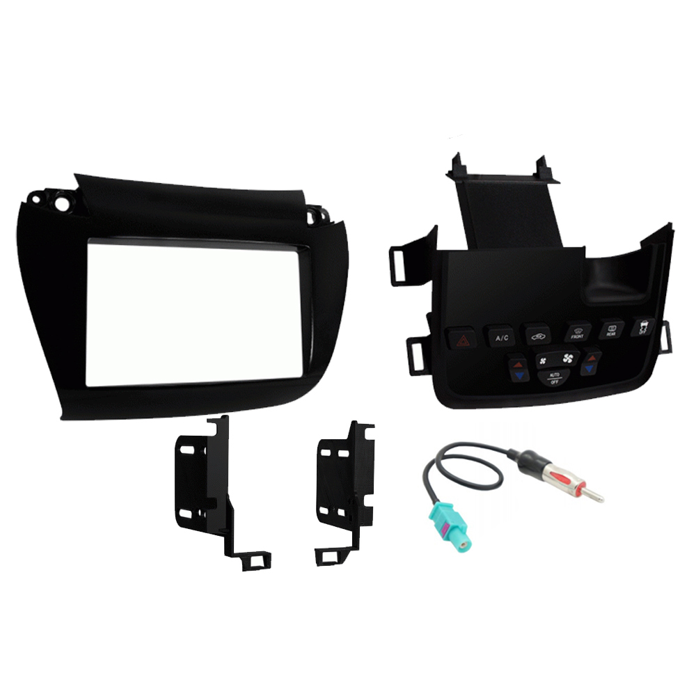 Dodge Journey 2011 2012 2013 2014 2015 2016 2017 2018 Single or Double DIN Stereo Radio Install Dash Kit New