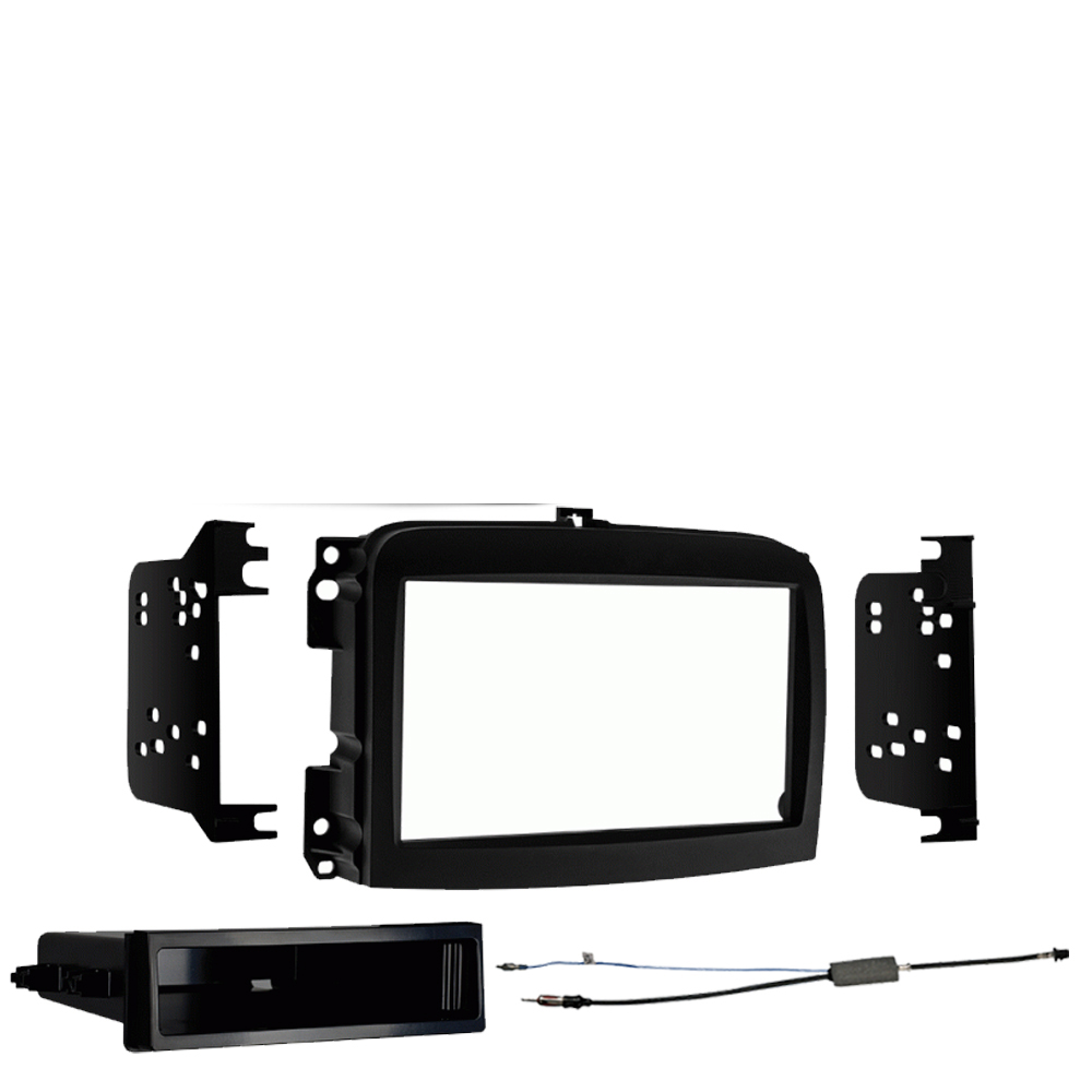 Fiat 500L 2014-2018 Single DIN Stereo Harness Radio Install Dash Kit Package New