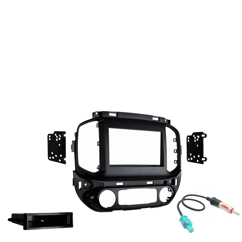 GMC Canyon 2019 Single or Double DIN Stereo Harness Radio Install Dash Kit New