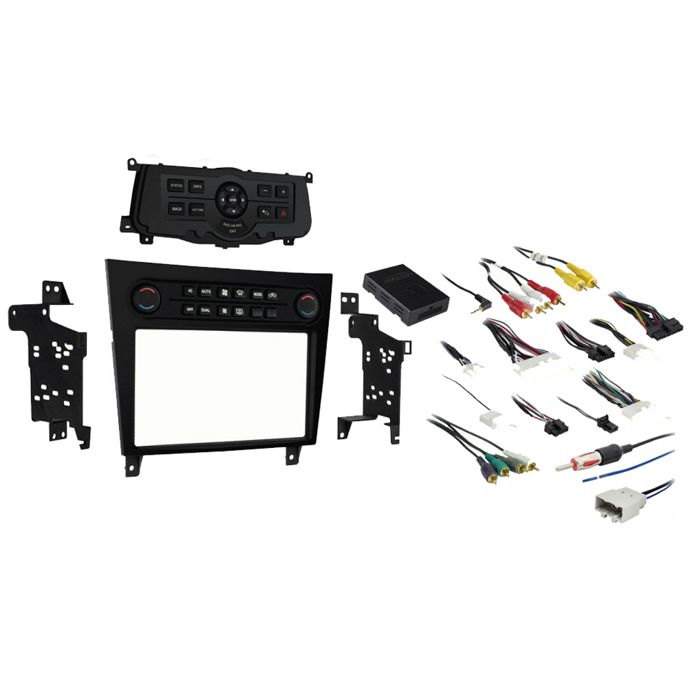 Fits Infiniti G25 2011 2012 Single or Double DIN Stereo Radio Install Dash Kit