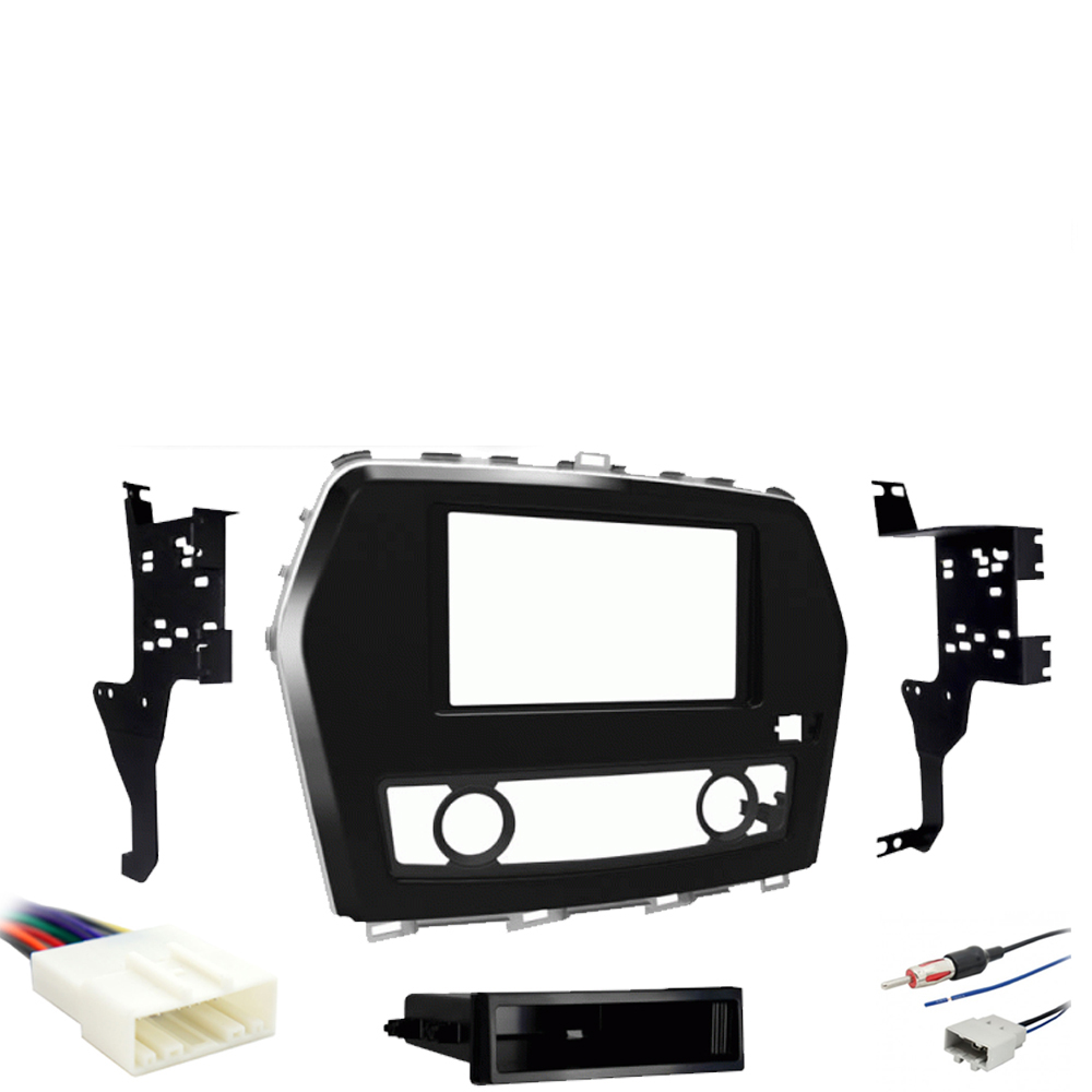 Details about Fits Nissan Maxima 2016-2018 Single or Double DIN Stereo on