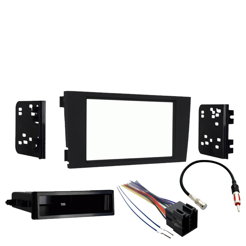Audi A6 2000-2001 Single Or Double Din Stereo Harness Radio Install Dash Kit New