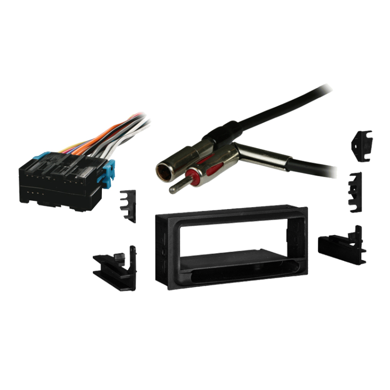 Chevy Lumina 1995 1996 1997 1998 1999 2000 2001  Single DIN Stereo Harness Radio Install Dash Kit Package