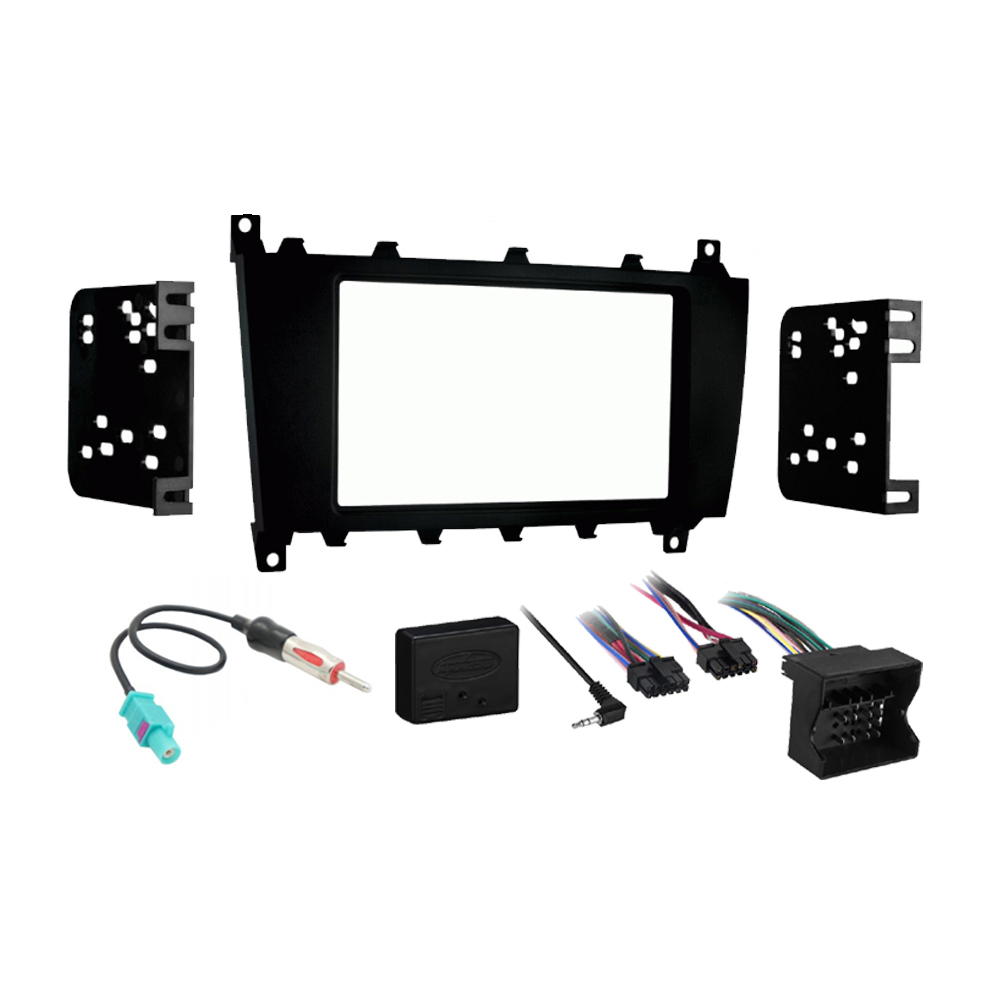 Mercedes G-Class 2007-2012 Double DIN Stereo Harness Radio Install Dash Kit New