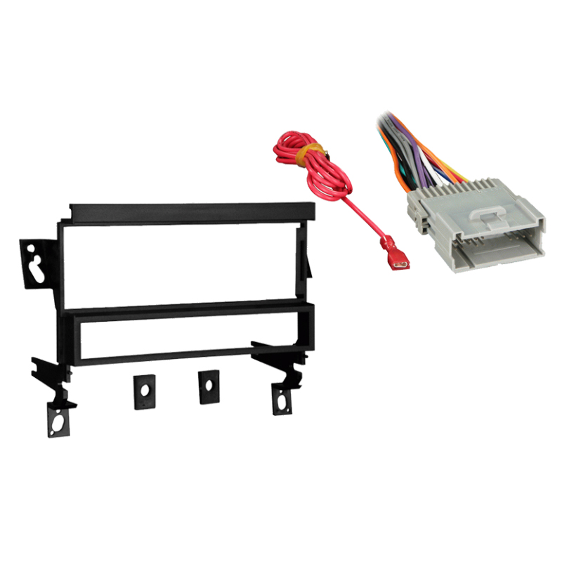 fits chevy prizm 2000 2003 single din stereo harness radio. Black Bedroom Furniture Sets. Home Design Ideas