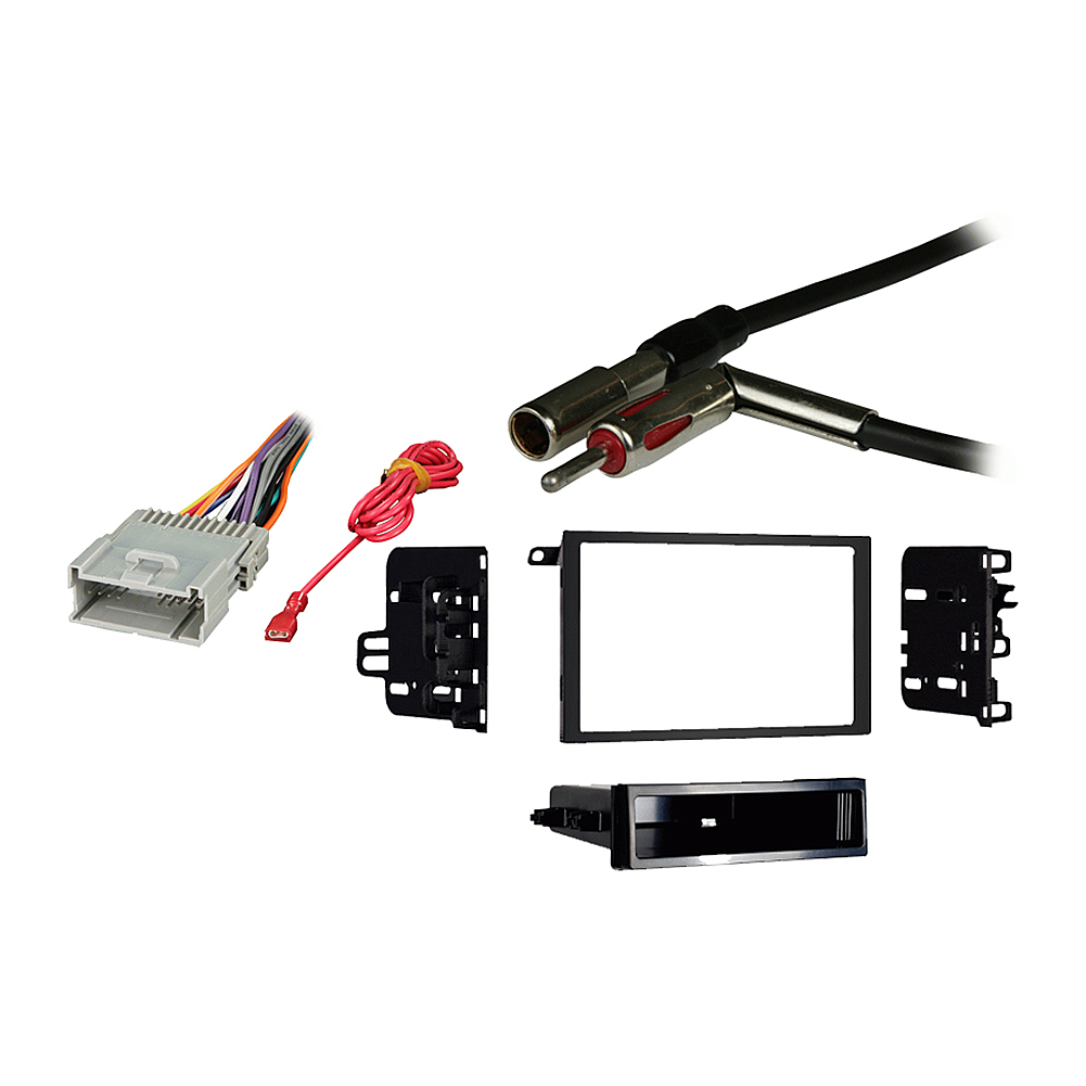 Chevy S 10 Pickup 2003 2004 Double DIN Stereo Harness Radio Install Dash Kit Package