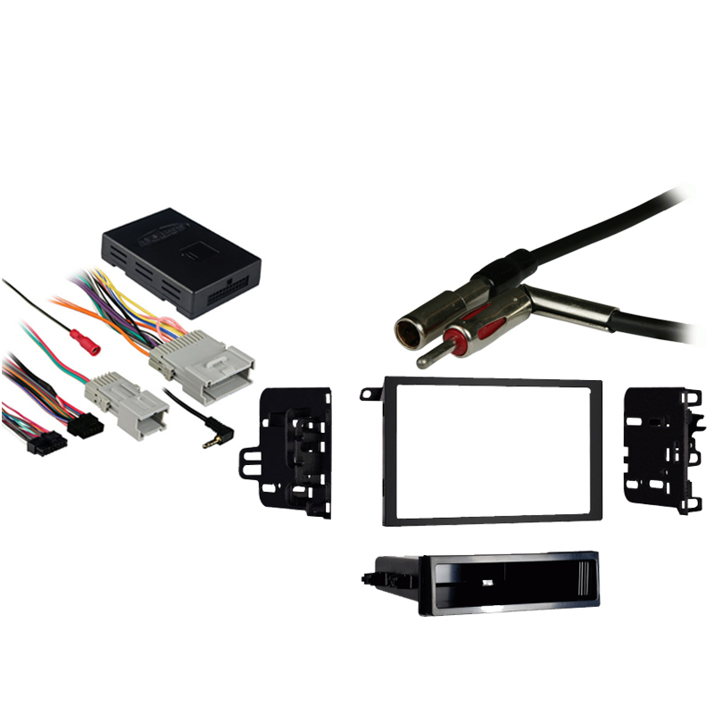 Chevy Suburban 2003-2006 Double DIN Stereo Harness Radio Install Dash Kit